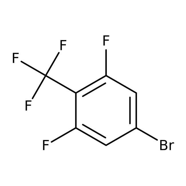 Alfa Aesar™4-Brom-2,6-Difluorbenzotrifluorid, 98% 250mg Alfa Aesar™4-Brom-2,6-Difluorbenzotrifluorid, 98%
