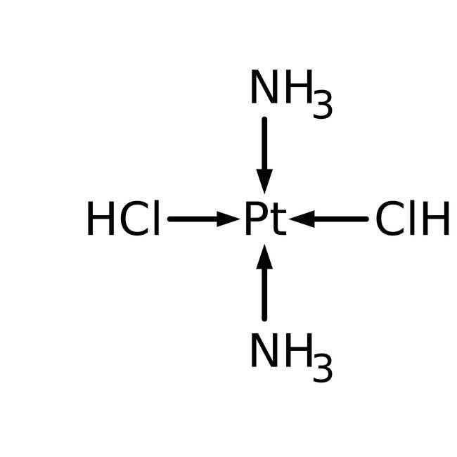 cis-Diamminedichlorplatin(II), Pt 64.5% min., Alfa Aesar™ 5g Produkte