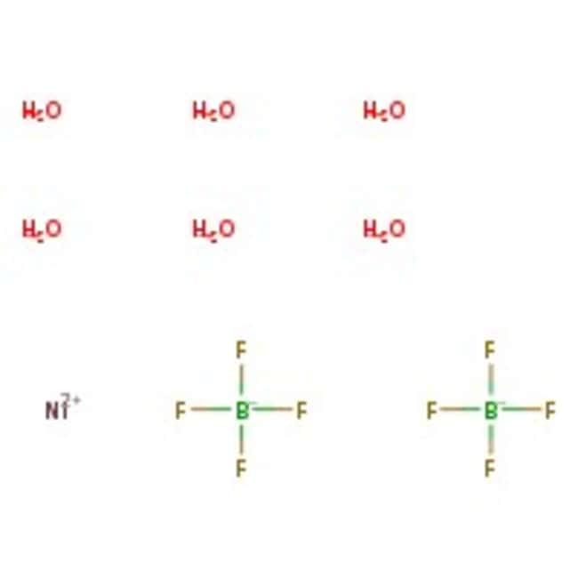 Nickel(II)-tetrafluorborat-Hexahydrat, 99%, ACROS Organics™ 25 g-Glasflasche Nickel(II)-tetrafluorborat-Hexahydrat, 99%, ACROS Organics™