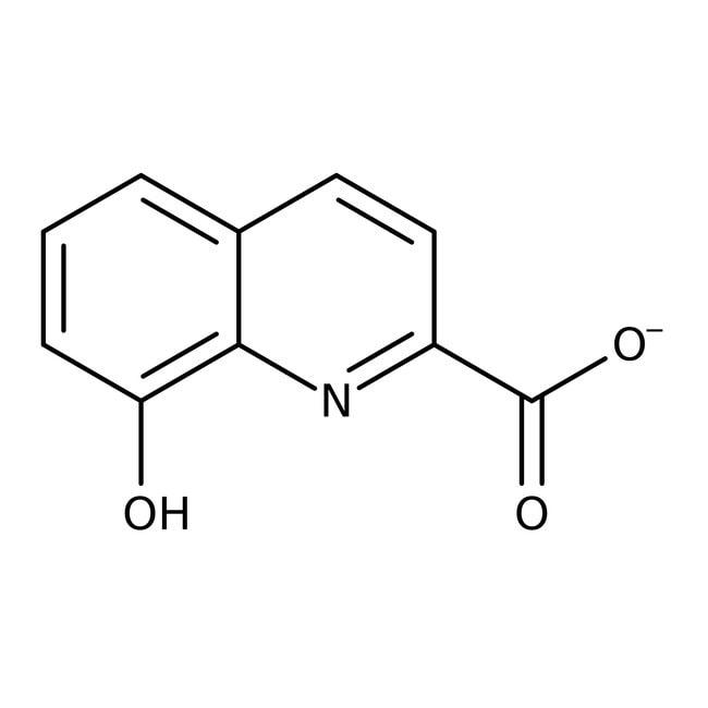 8-Hydroxyquinoline-2-carboxylic acid, 98%, ACROS Organics™ 5g; Glass bottle 8-Hydroxyquinoline-2-carboxylic acid, 98%, ACROS Organics™
