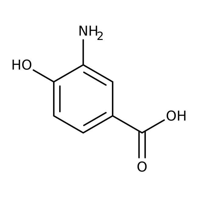 3-Amino-4-hydroxybenzoic acid, 98%, ACROS Organics™