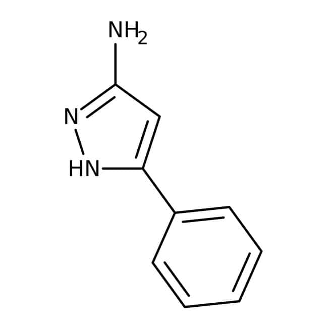 3-Phenyl-1H-pyrazol-5-amine, 97%, Maybridge Amber Glass Bottle; 1g 3-Phenyl-1H-pyrazol-5-amine, 97%, Maybridge