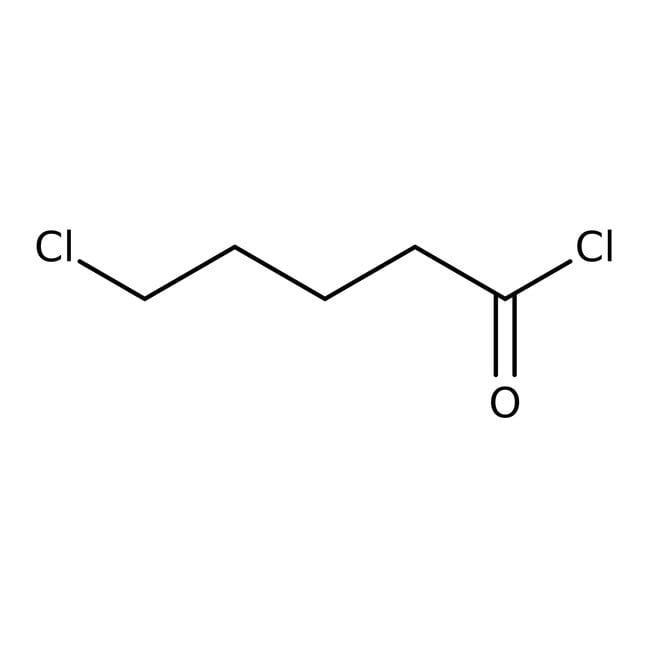 5-Chlorovaleryl chloride, 96%, ACROS Organics™ 25mL; Glass bottle 5-Chlorovaleryl chloride, 96%, ACROS Organics™