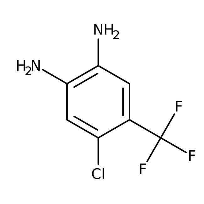 Alfa Aesar™4-Chlor-5-Trifluormethyl-o-Phenylendiamin, 95% 1g Alfa Aesar™4-Chlor-5-Trifluormethyl-o-Phenylendiamin, 95%