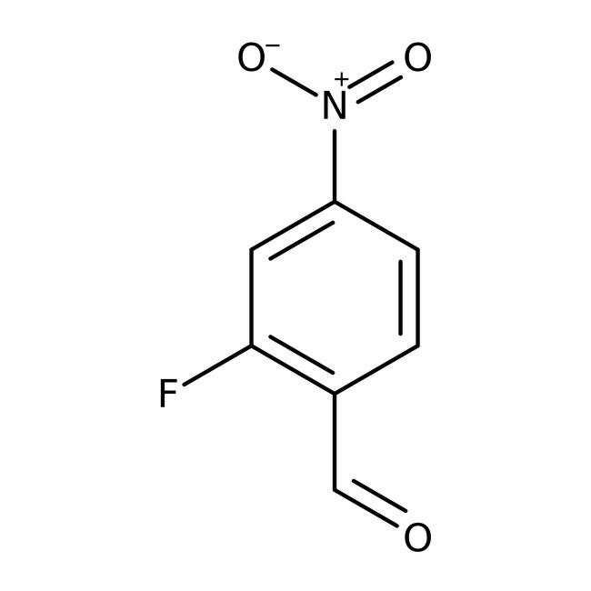 Alfa Aesar™2-Fluoro-4-nitrobenzaldehyde, 97% 250mg Alfa Aesar™2-Fluoro-4-nitrobenzaldehyde, 97%