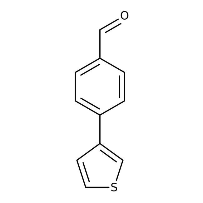 4-(3-Thienyl)benzaldehyde, ≥97%, Maybridge™ Amber Glass Bottle; 1g prodotti trovati