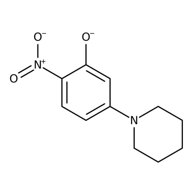 Alfa Aesar  2-Nitro-5-(1-piperidinyl)phenol, 97%