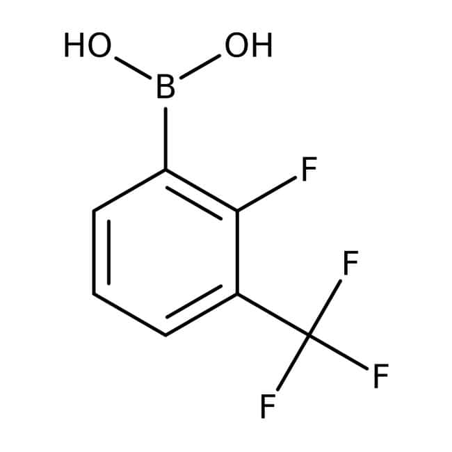2-Fluoro-3-(trifluoromethyl)phenylboronic acid, 97%, ACROS Organics