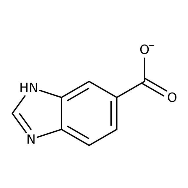 1H-Benzimidazole-5-carboxylic acid, 98%, ACROS Organics™ 5g 1H-Benzimidazole-5-carboxylic acid, 98%, ACROS Organics™
