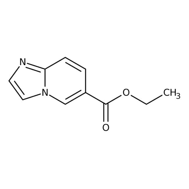 Ethyl imidazo[1,2-a]pyridine-6-carboxylate, 95%, Alfa Aesar™ 250mg Ethyl imidazo[1,2-a]pyridine-6-carboxylate, 95%, Alfa Aesar™