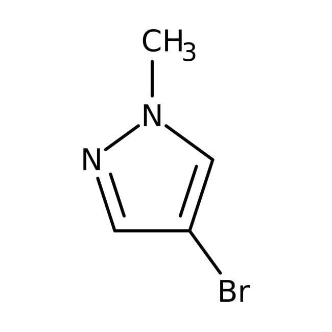 Alfa Aesar™4-Bromo-1-methyl-1H-pyrazole, ≥98% 100g Alfa Aesar™4-Bromo-1-methyl-1H-pyrazole, ≥98%