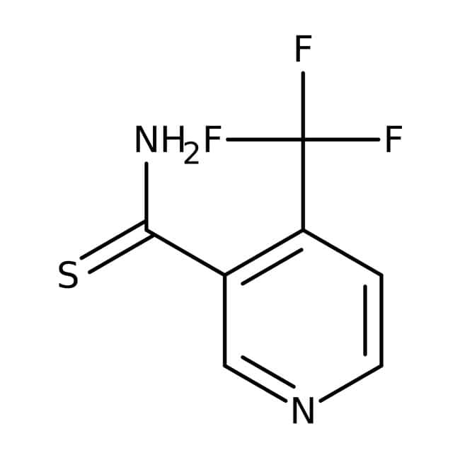 4-(Trifluoromethyl)pyridine-3-carbothioamide, ≥95%, Maybridge™ Amber Glass Bottle; 250mg 4-(Trifluoromethyl)pyridine-3-carbothioamide, ≥95%, Maybridge™