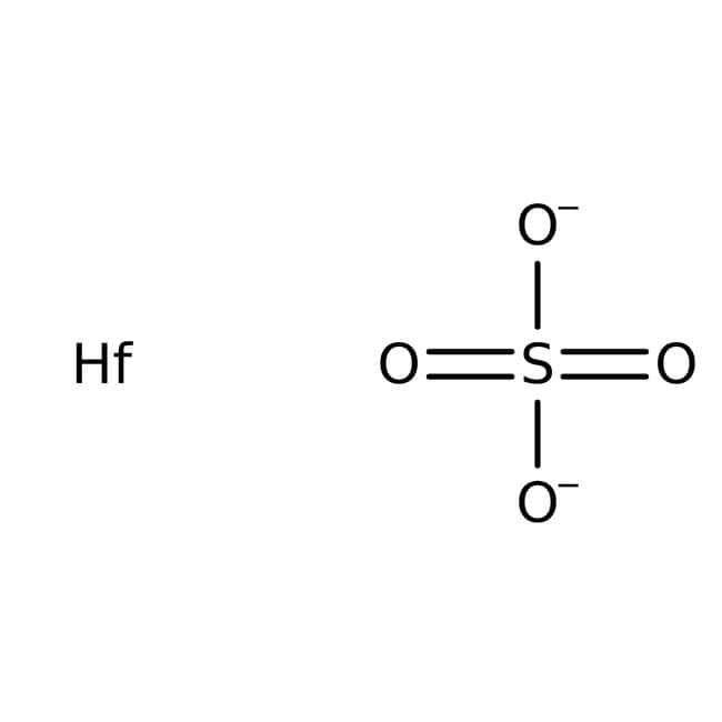 Alfa Aesar™Hafnium(IV) sulfate, 99.9% (metals basis excluding Zr), Zr <1%
