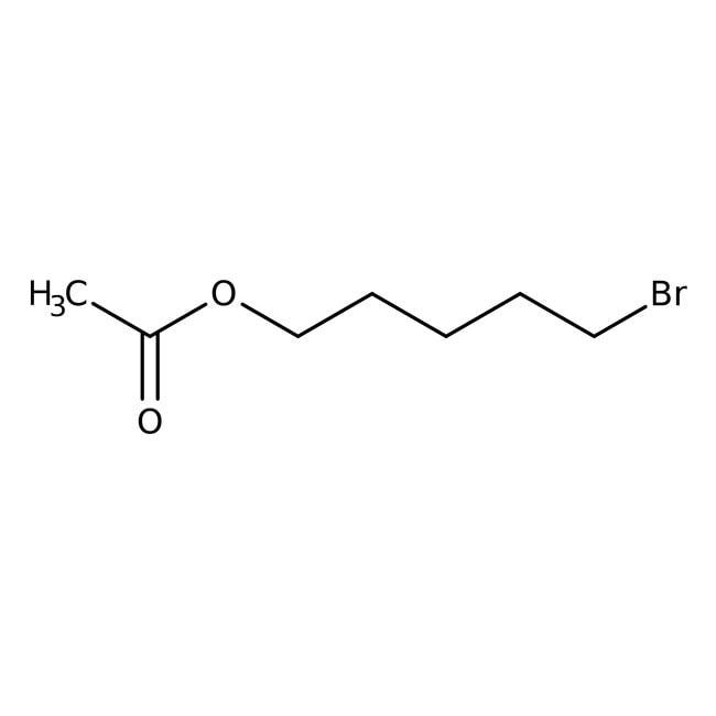 Alfa Aesar™Acetato de 5-bromopentilo, 98% 5g Alfa Aesar™Acetato de 5-bromopentilo, 98%