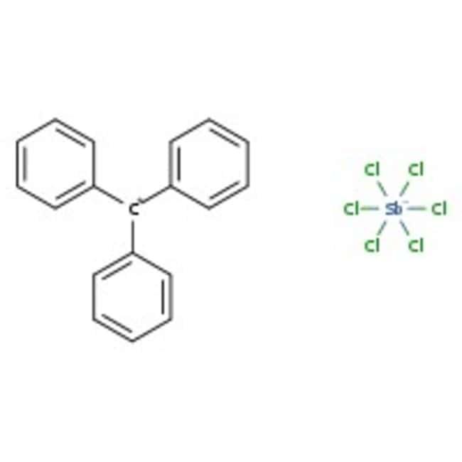 Triphenylcarbenium hexachloroantimonate, 98%, ACROS Organics