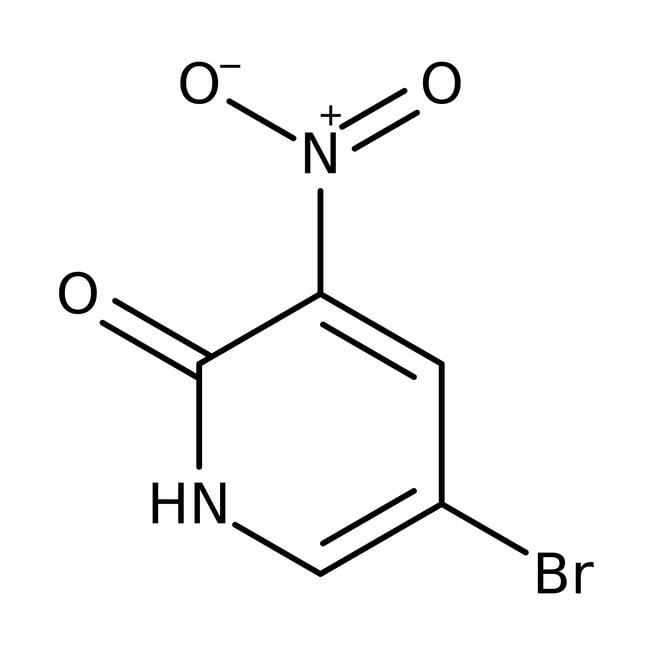 5-Bromo-3-nitropyridin-2-ol, 95%+ Amber Glass Bottle; 10g 5-Bromo-3-nitropyridin-2-ol, 95%+