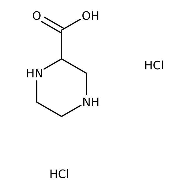 Alfa Aesar™Diclorhidrato de ácido (S)-(-)-piperazina-2-carboxílico, +98% 1g Alfa Aesar™Diclorhidrato de ácido (S)-(-)-piperazina-2-carboxílico, +98%