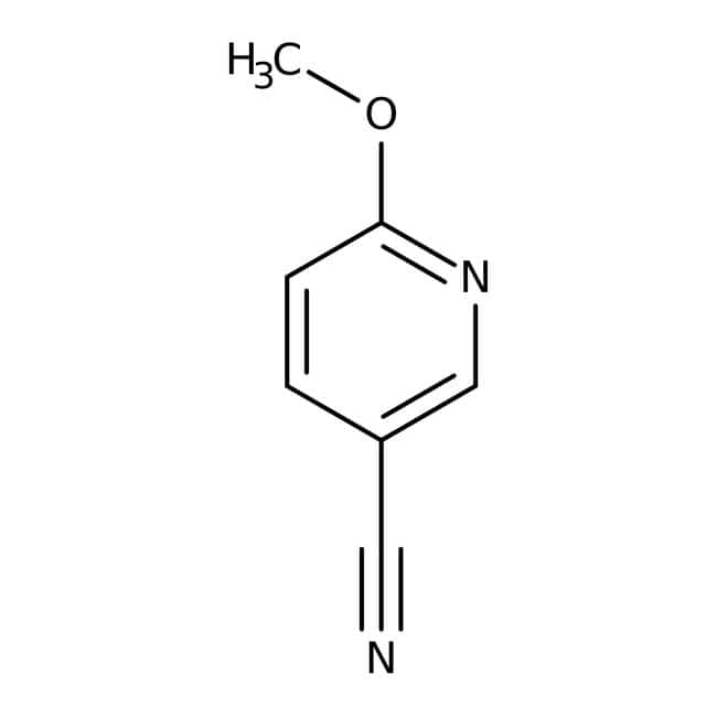 6-Methoxynicotinonitrile, 97%, Maybridge™ Amber Glass Bottle; 1g 6-Methoxynicotinonitrile, 97%, Maybridge™