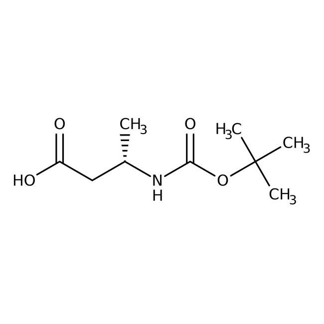 Alfa Aesar™(S)-3-(Boc-Amino)butansäure, 95% 1g Alfa Aesar™(S)-3-(Boc-Amino)butansäure, 95%