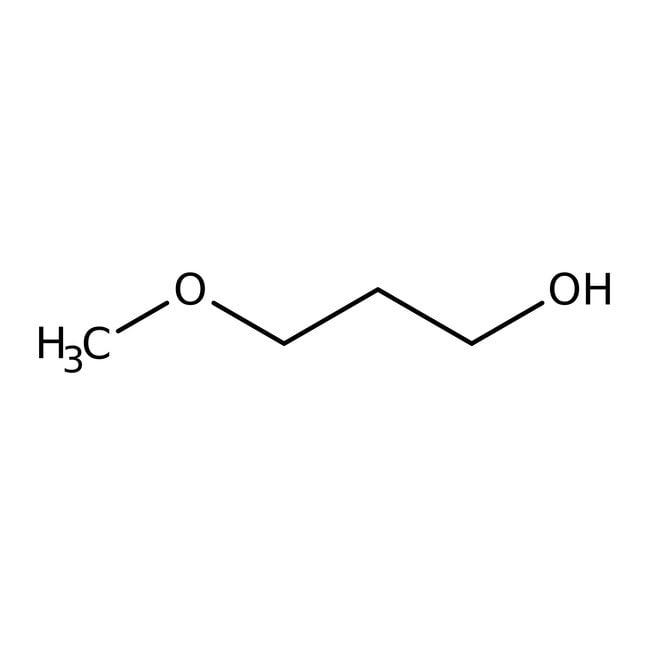 3-Methoxy-1-propanol, 98%, ACROS Organics™ 50g; Glass bottle 3-Methoxy-1-propanol, 98%, ACROS Organics™