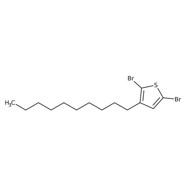 Alfa Aesar™2,5-Dibromo-3-n-decylthiophene, 97%