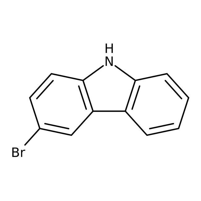 Alfa Aesar™3-Bromocarbazole, 98% 5g Alfa Aesar™3-Bromocarbazole, 98%