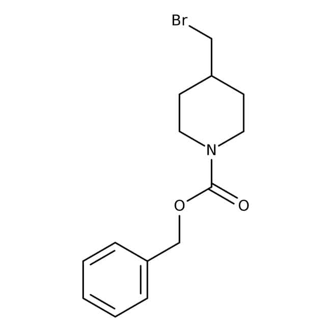 Benzyl 4-(bromomethyl)tetrahydro-1(2H)-pyridinecarboxylate, 97%, Maybridge