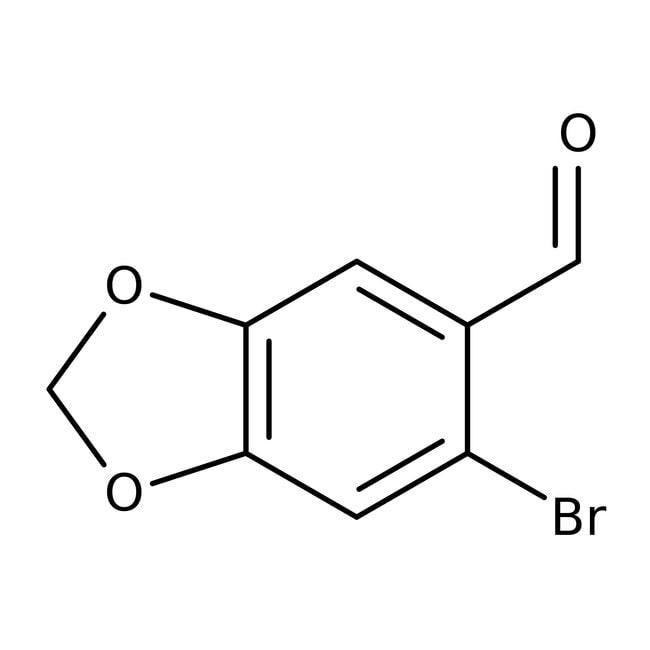 6-Bromopiperonal, 98%, ACROS Organics™