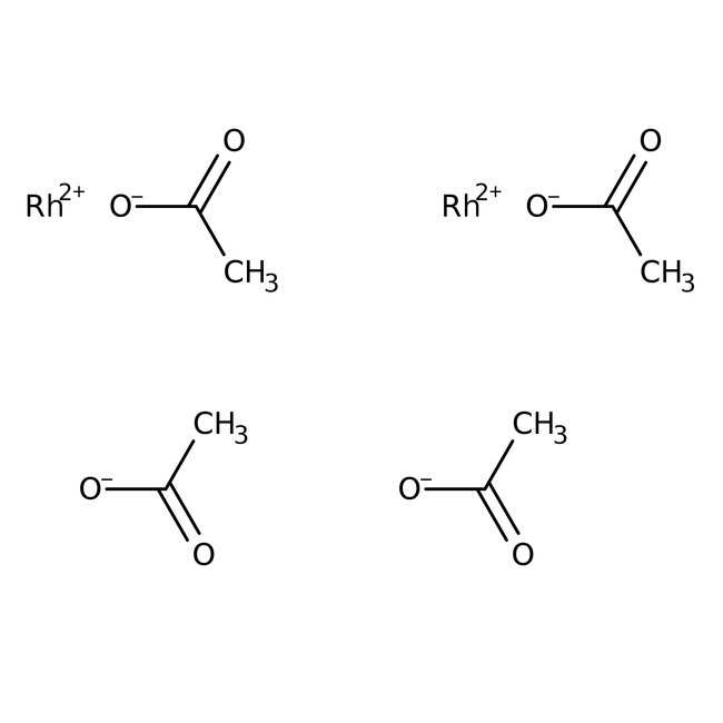 Rhodium(II) acetate dimer, anhydrous, ca 46% Rh, ACROS Organics™