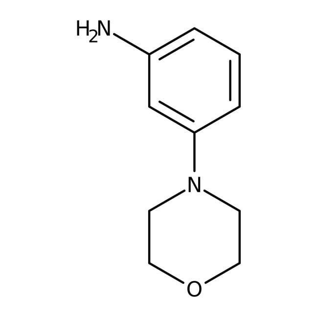 3-morpholin-4-ylaniline, 97%, Maybridge™ Amber Glass Bottle; 1g 3-morpholin-4-ylaniline, 97%, Maybridge™