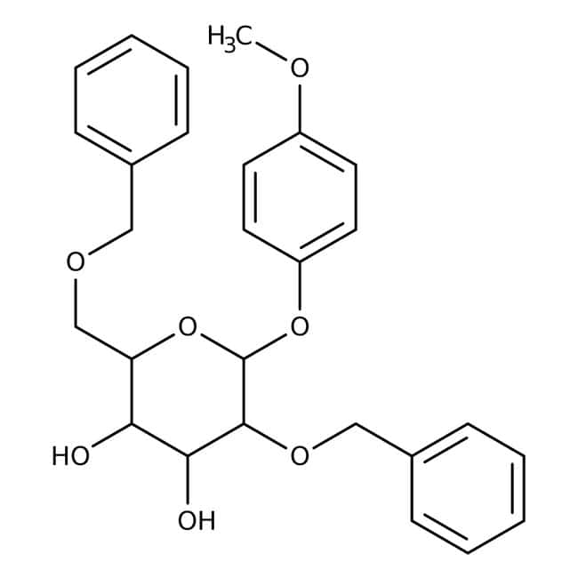 4-Methoxyphenyl 2,6-Di-O-benzyl-beta-D-galactopyranoside 98.0+%, TCI America™