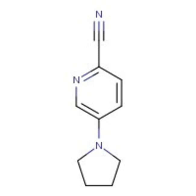 5-Pyrrolidin-1-ylpyridine-2-carbonitrile, 97%, Maybridge™