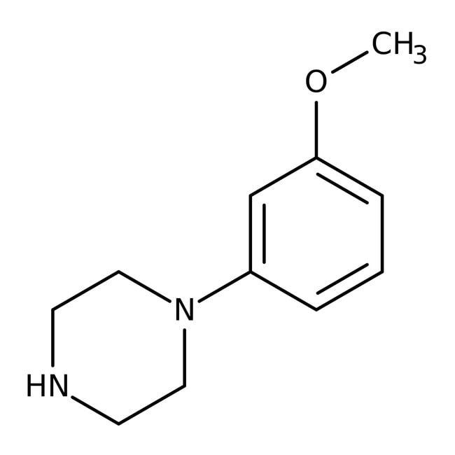 Alfa Aesar™1-(3-Methoxyphenyl)piperazine, 95%