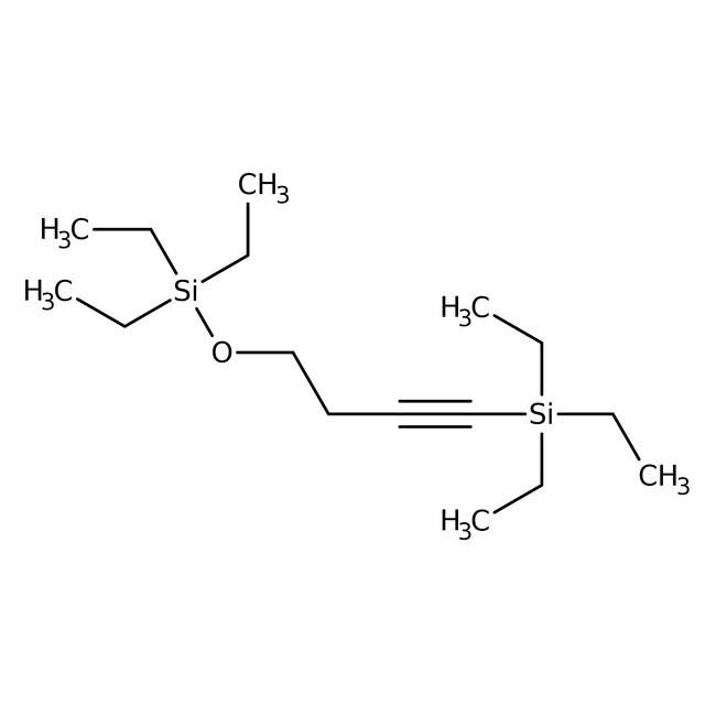 Alfa Aesar™1-Triethylsilyl-4-triethylsilyloxy-1-butyne, 97% 5g Alfa Aesar™1-Triethylsilyl-4-triethylsilyloxy-1-butyne, 97%