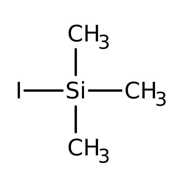 Iodotrimethylsilane, 95-97%, stabilized, ACROS Organics™: Organoheterosilanes Organosilicon compounds