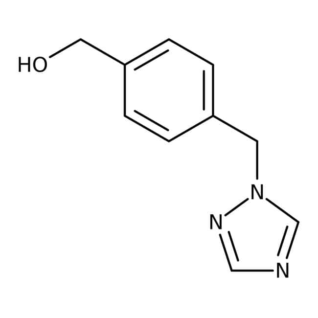 [4-(1H-1,2,4-Triazol-1-ylmethyl)phenyl]methanol, ≥97 %, Maybridge Braunglasflasche, 250 mg [4-(1H-1,2,4-Triazol-1-ylmethyl)phenyl]methanol, ≥97 %, Maybridge