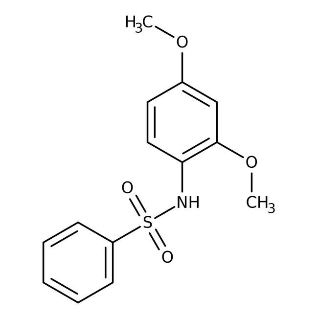 Alfa Aesar™N-(2,4-Dimethoxyphenyl)benzenesulfonamide, 97% 1g Alfa Aesar™N-(2,4-Dimethoxyphenyl)benzenesulfonamide, 97%