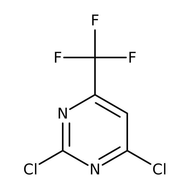 2,4-Dichloro-6-(trifluoromethyl)pyrimidine, 95%, ACROS Organics™ 250mg 2,4-Dichloro-6-(trifluoromethyl)pyrimidine, 95%, ACROS Organics™