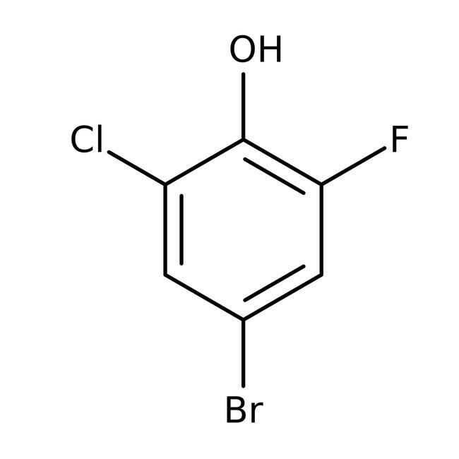 Alfa Aesar™4-Brom-2-Chlor-6-Fluorphenol, 97+%: Bromophenols Halophenols