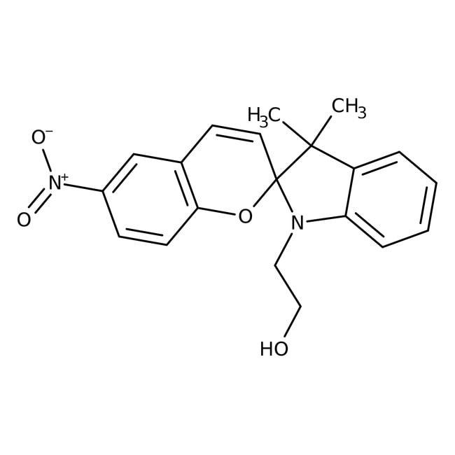 1-(2-Hydroxyethyl)-3,3-dimethylindolino-6′-nitrobenzopyrylospiran 93.0+%, TCI America™