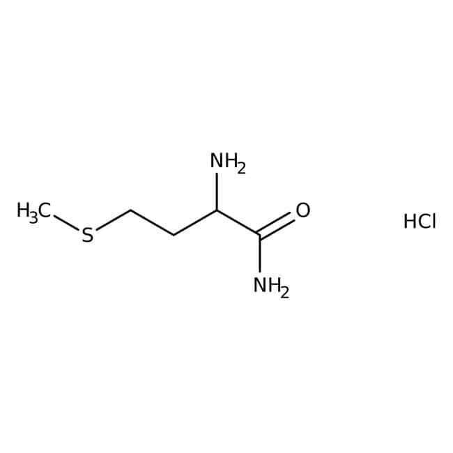 L-Methioninamide hydrochloride, 98%, Acros Organics 5g, Glass bottle L-Methioninamide hydrochloride, 98%, Acros Organics