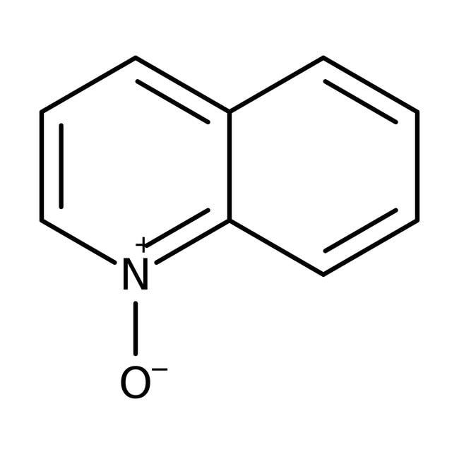 Quinoline N-oxide hydrate, 98%, Acros Organics 5g; Glass bottle Quinoline N-oxide hydrate, 98%, Acros Organics