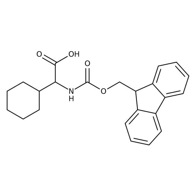 Alfa Aesar™N-Fmoc-2-cyclohexyl-L-glycine, 98% 5g Alfa Aesar™N-Fmoc-2-cyclohexyl-L-glycine, 98%