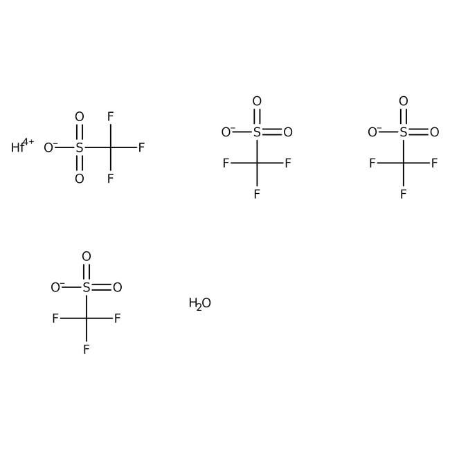 Alfa Aesar™Hafnium-Trifluormethansulfonat, 98% 5g Alfa Aesar™Hafnium-Trifluormethansulfonat, 98%