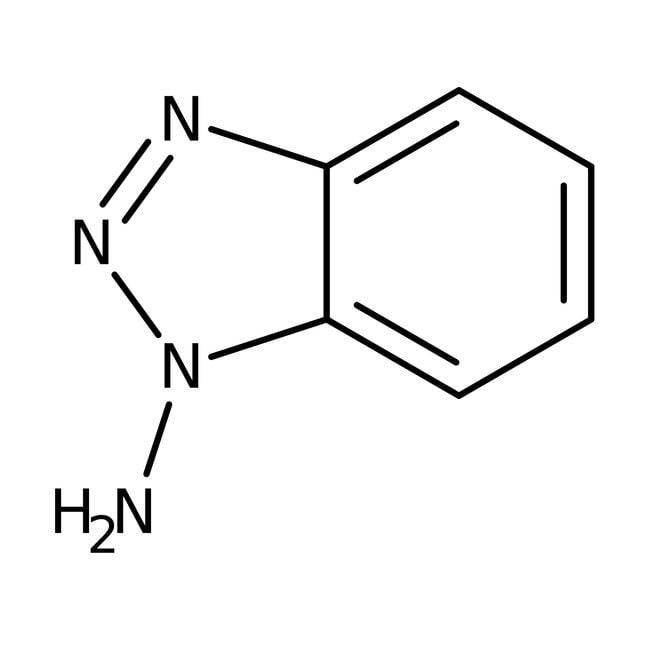 1-Aminobenzotriazole, 98%, ACROS Organics™ 250mg; Glass bottle 1-Aminobenzotriazole, 98%, ACROS Organics™