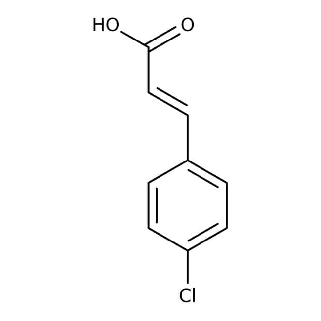 4-Chlorocinnamic acid, 99%, predominantly trans, ACROS Organics™