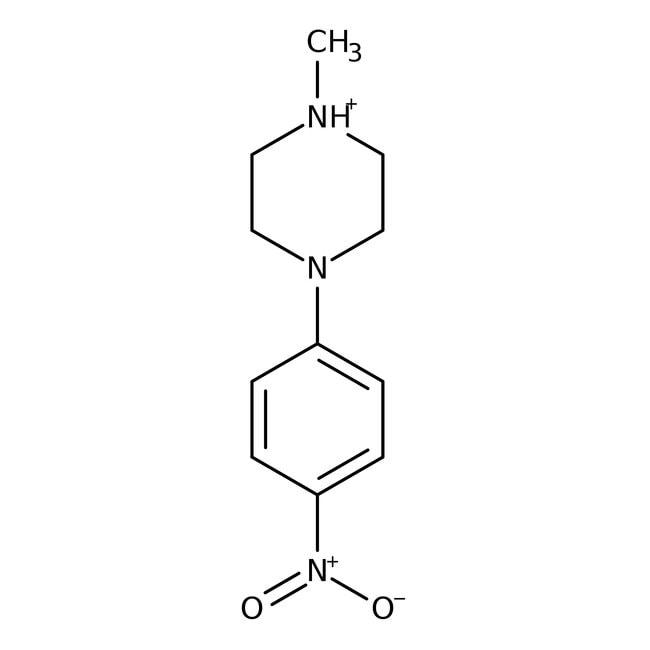 Alfa Aesar™1-Methyl-4-(4-nitrophenyl)piperazine, 97% 5g Alfa Aesar™1-Methyl-4-(4-nitrophenyl)piperazine, 97%
