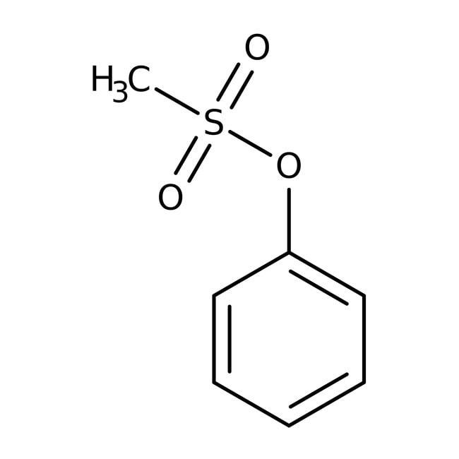 Alfa Aesar™Phenyl methanesulfonate, 98%