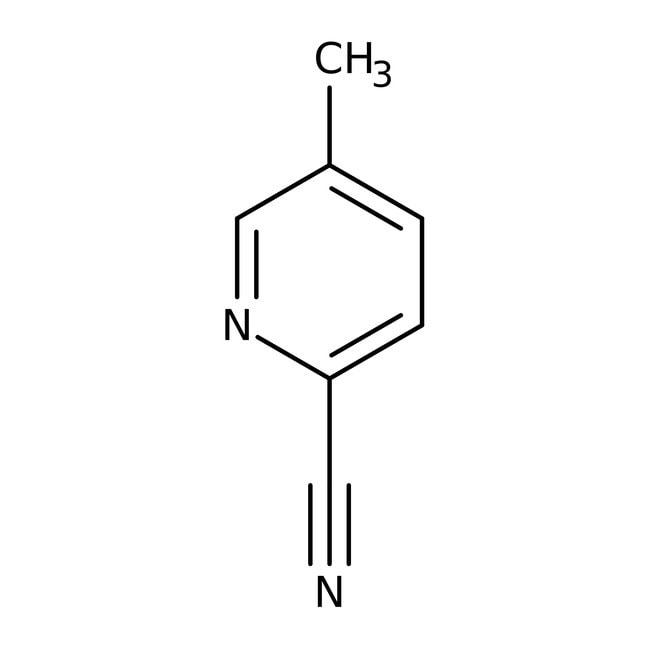 Alfa Aesar™5-Methylpyridin-2-carbonitril, ≥97% 25g Alfa Aesar™5-Methylpyridin-2-carbonitril, ≥97%
