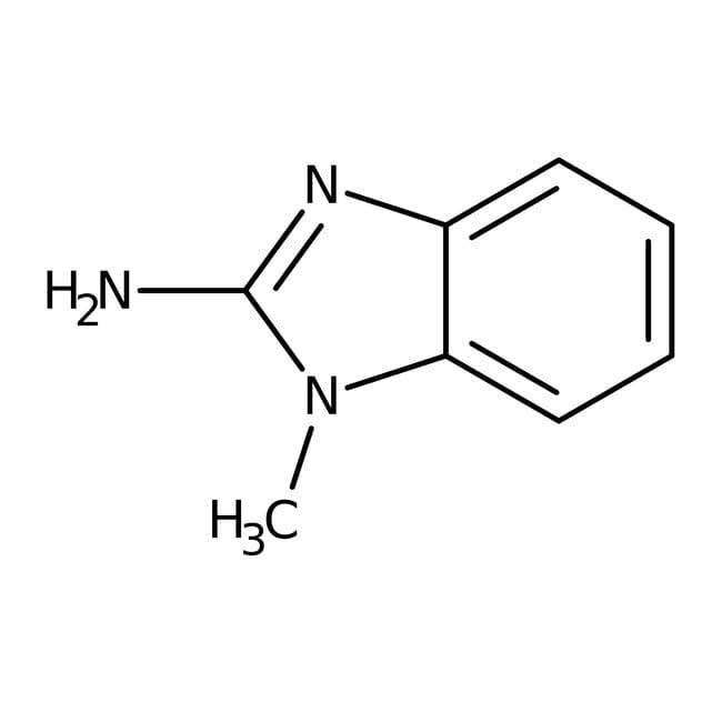 2-Amino-1-methylbenzimidazole, 99+%, ACROS Organics™